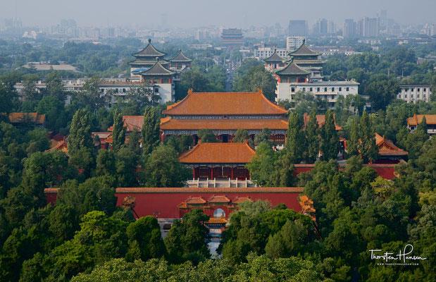 Panorama vom Jingshan-Hügel