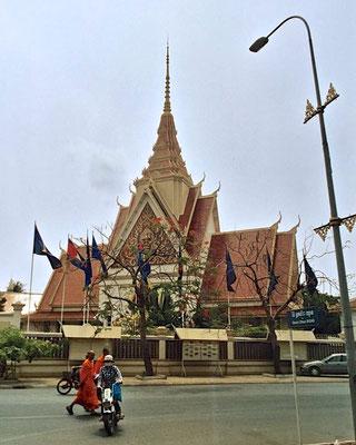 Das Nationalmuseum von Kambodscha in Phnom Penh