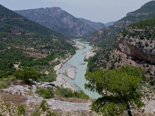 Fluss Saleph, bei Göksu - Todesart von Kaiser Barbarossa