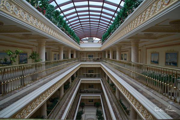 Hotelansicht in Almaty