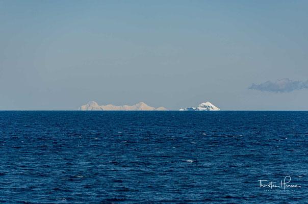 Eisberge auf dem Weg durch den Antarctic Sound
