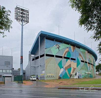 Das Estadio Centenario ist das größte Fußballstadion in Montevideo und Spielstätte der Fußball-Weltmeisterschaft 1930