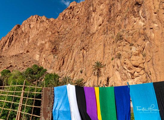 Die bis zu 300 Meter hohen Steilwände der Schlucht, deren Boden etwa auf 1400 Meter Meereshöhe liegt, sind sehr attraktiv für den Klettersport.