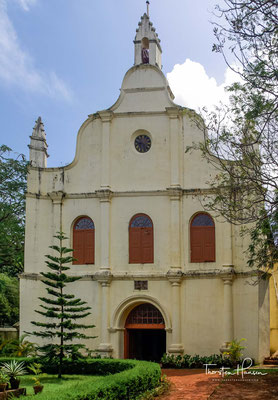 Die Franziskanerkirche in Kochi, ist die erste europäische Kirche Indiens. Nach der Fertigstellung im Jahre 1516 wurde der Heilige Antonius neuer Patron.