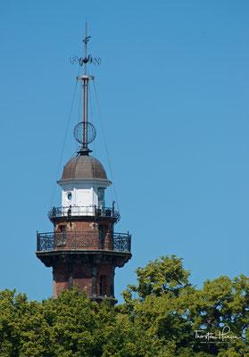Zeit Kugel an dem Leuchtturm in Neufahrwasser (Nowy Port)