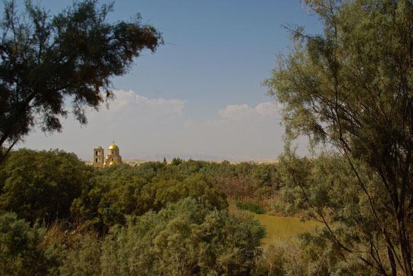 Johannes Kirche am Jordan Fluss