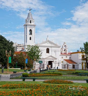 Basílica Nuestra Señora del Pilar aus dem Jahre 1732