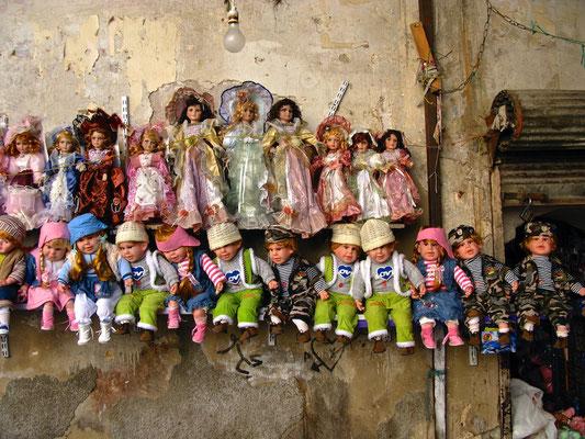 Puppenverkauf Damaskus