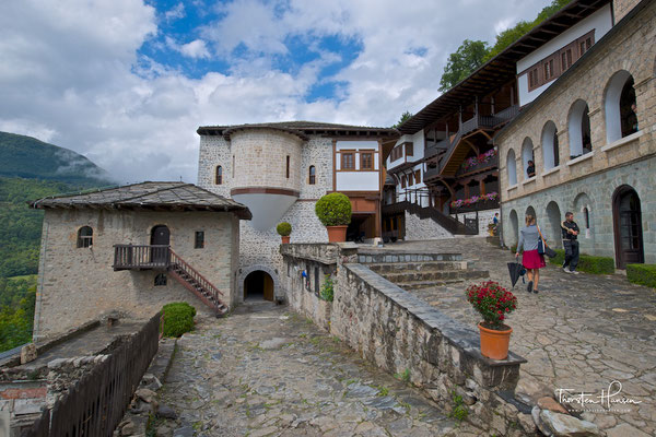 Kloster Sveti Jovan Bigorski in Mazedonien