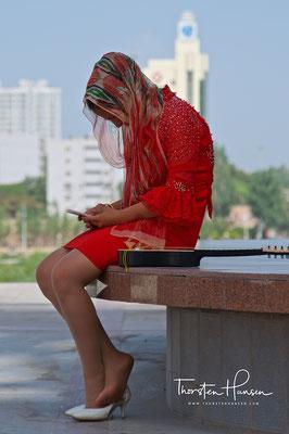 Schönheit in Kashgar