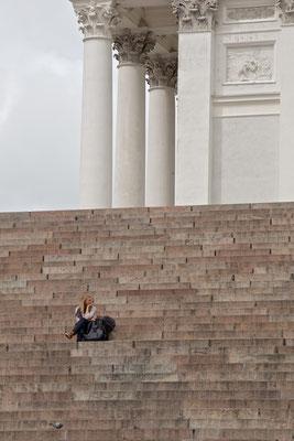 Dom am Senatsplatz von Helsinki