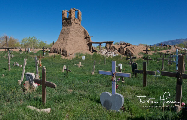 Friedhof in Taos