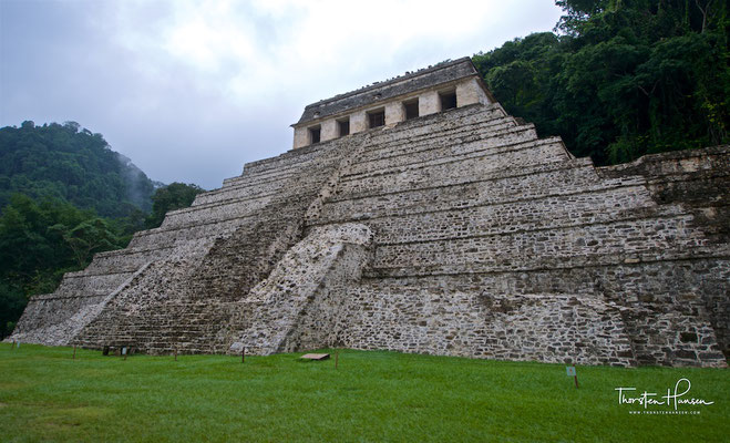 Templo de las Inscripciones (Tempel der Inschriften) in Palenque