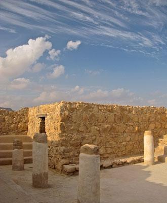 Synagoge in Masada