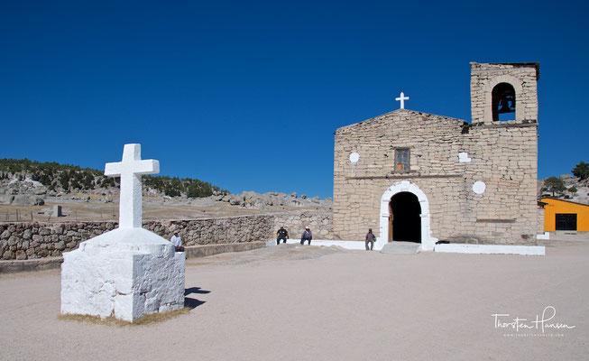 Kirche in der Nähe von Creel
