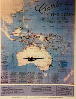 Nostalgisches im Museum von Seaplanes Sydney