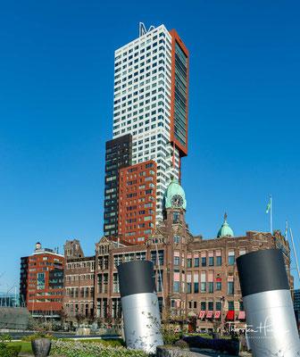 und ist ein Prestigeobjekt im Stadterneuerungsprogramm Kop van Zuid. Es steht als Rijksmonument unter Denkmalschutz.
