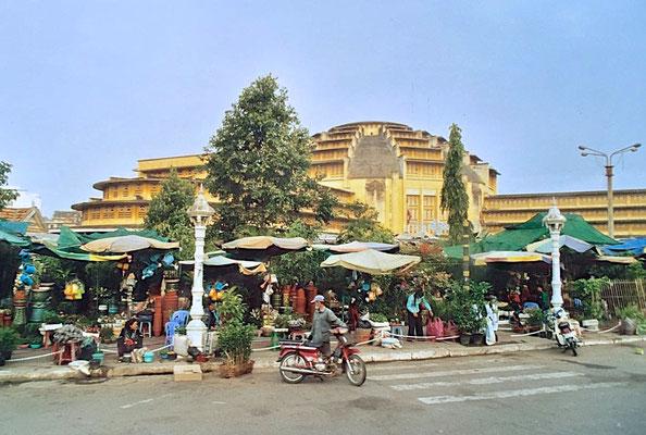 Markthalle von Phnom Penh