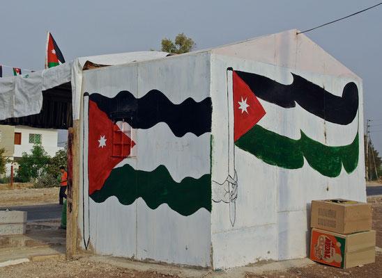 Jordanischer Kaffeestand