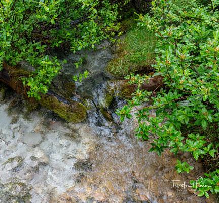 Der Isarursprung im Hinterautal Hier nimmt der viertgrößte Fluss Bayerns seinen Anfang.