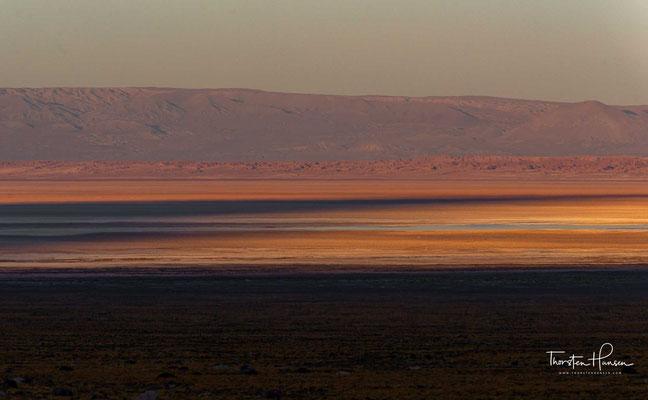Sonnenaufgang in der Atacama Wüste