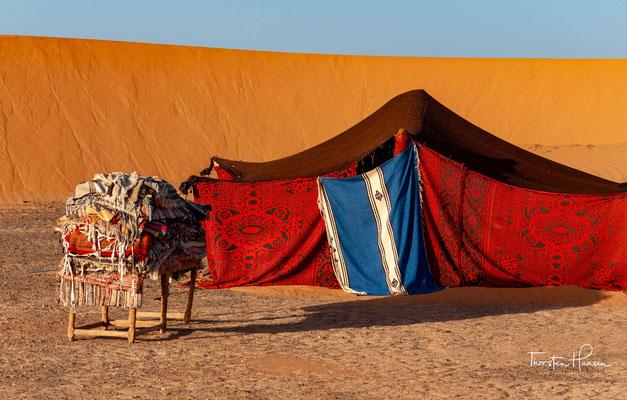 Die Farbe des Sandes wechselt mit der Tageszeit oder mit den Wetterbedingungen.