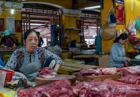 Fleischmarkt in Hoi An
