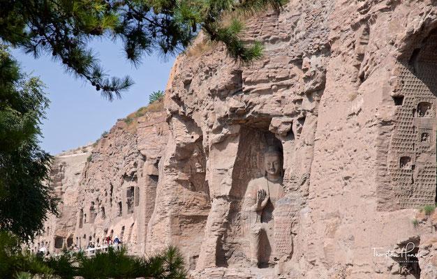 Yungang-Grotten in Datong
