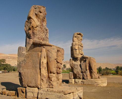 Memnon Kolosse in Luxor