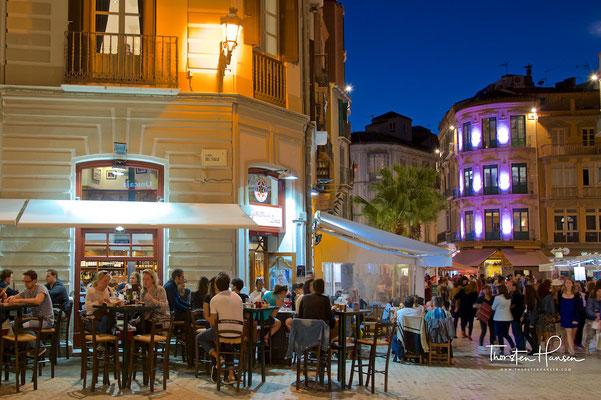 Nachtleben in Málaga
