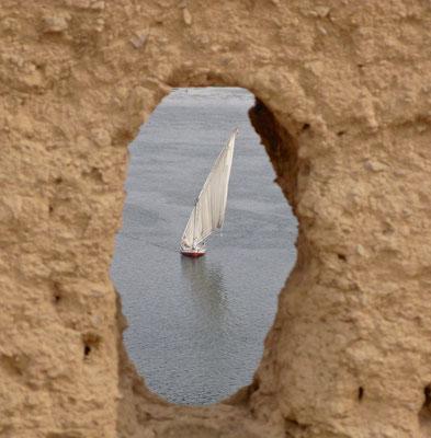 Feluccas auf dem Nil