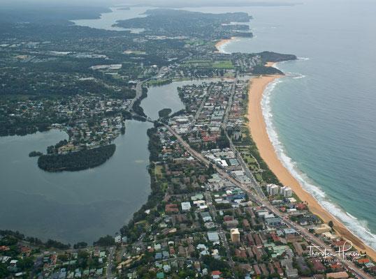 der Strand von Manly