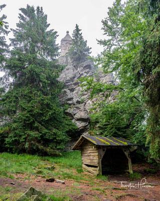 Waldschmidtdenkmal auf dem Gipfel des Großen Riedelsteins
