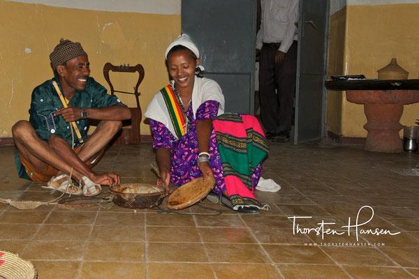 Folklore und Tanz in Lalibela
