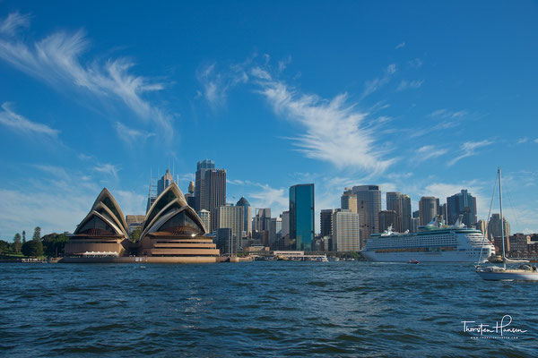 Segeltörn im Sydney Habour