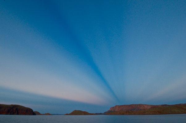 Abendstimmung am Lake Argyle