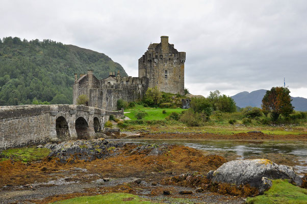 Highlander Burg Eilean Donan Castle