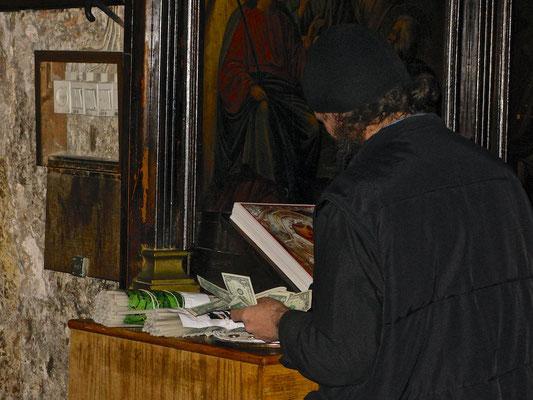 Leichtes Geld verdienen am Grab der Jungfrau Maria Jerusalem