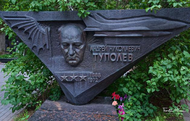 Grab von Andrei Tupolev auf dem Nowodewitschi-Friedhof