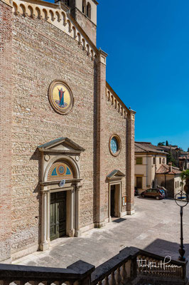 Der Dom 'Santa Maria Assunta' war bis 969 Bischofskirche und erhielt seine heutige Gestalt 1747 von Giorgio Massari.
