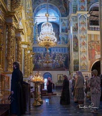Das Höhlenkloster ist eine der wichtigsten Sehenswürdigkeiten Kiews. Der hohe Stellenwert wird auch dadurch untermauert, dass der Klosterkomplex seit 1990 zum Weltkulturerbe der UNESCO zählt.