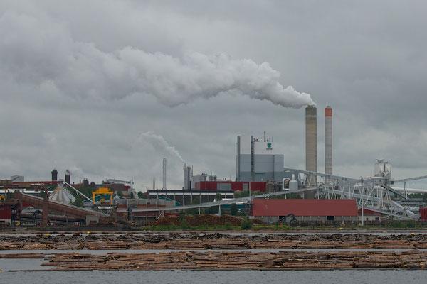 Playboy-Holzfabrik in Lappeenranta