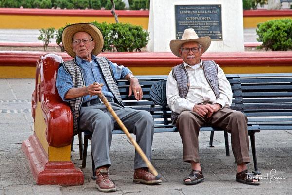 Alte Männer in Tequila in Jalisco