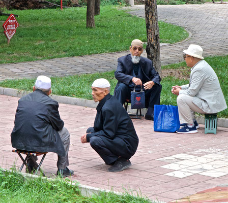 Hui Männer in Lanzhou