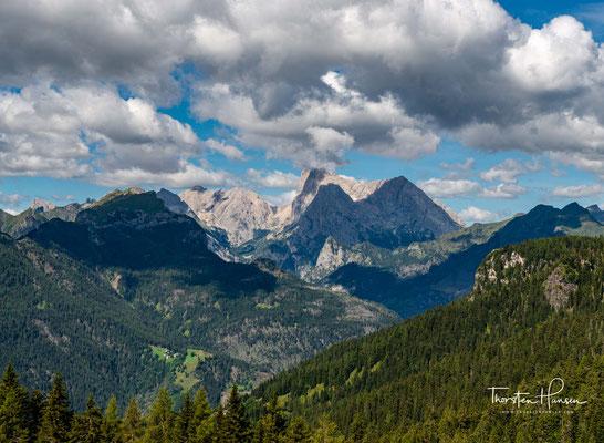 Marmolada - Die Königin der Dolomiten vom Col dei Baldi