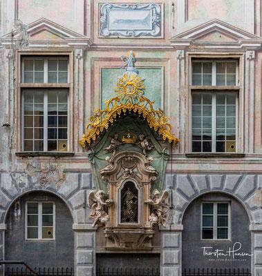 Die Bank wurde 1407 gegründet und zählt zu den ältesten Europas beziehungsweise der ganzen Welt. Der Sitz des Instituts war der gleichnamige Palazzo San Giorgio in Genua.