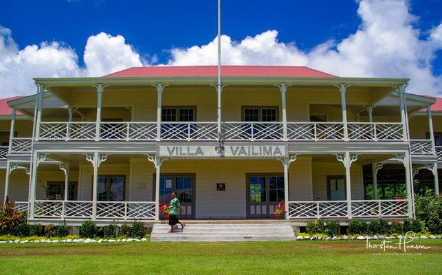 Sie wurde zu Beginn der 1890er-Jahre von Robert Louis Stevenson erbaut, der hier seine letzten Lebensjahre verbrachte. Er ist nur kurz vom Gebäude entfernt, auf dem Mount Vaea beerdigt.