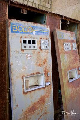 Getränkeautomat - ein Becher für alle