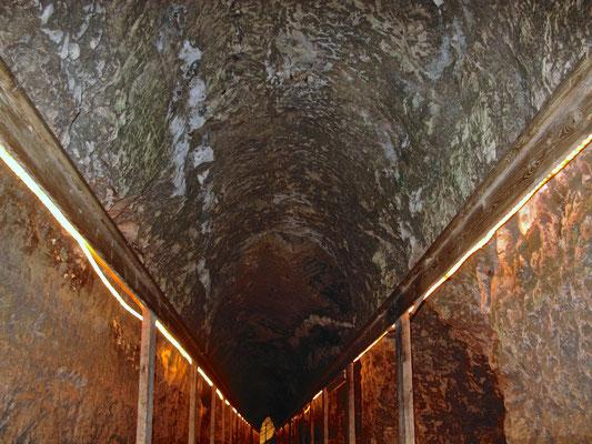 80 m langer Wassertunnel sicherte Wasserzufuhr auch unter Belagerung
