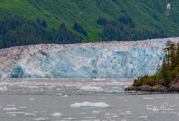 Benannt wurde der Gletscher im Jahr 1909 vom United States Geological Survey (USGS) nach Kapitän John Meares (1756–1809), einem englischen Seefahrer, Navigator und Entdecker.